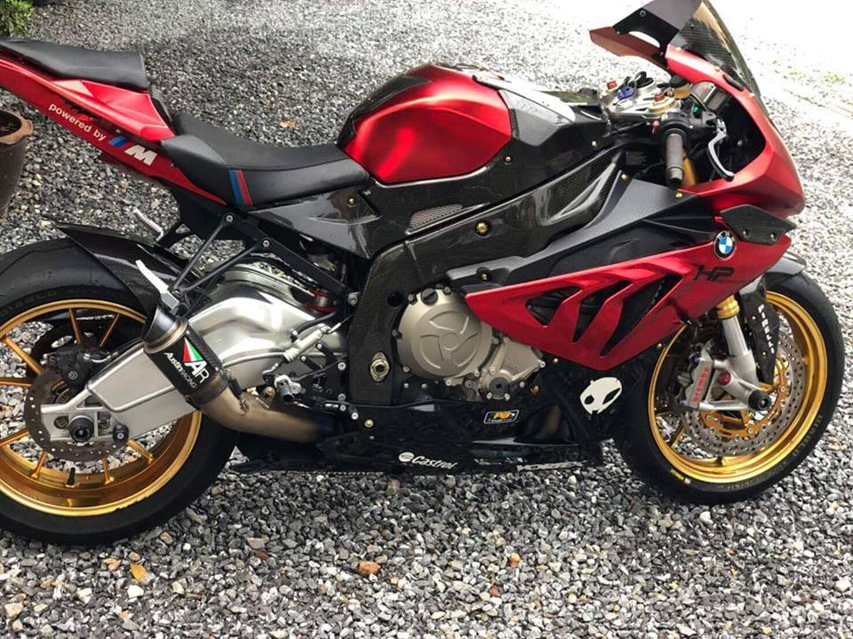 BMW S1000RR Ca map Shark goi cam cung tong mau Red Candy - 7