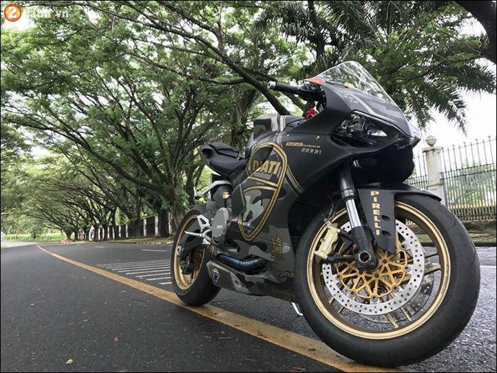 Ducati 899 Panigale quy do doi lot Camo Limited dep ngat nguong - 3