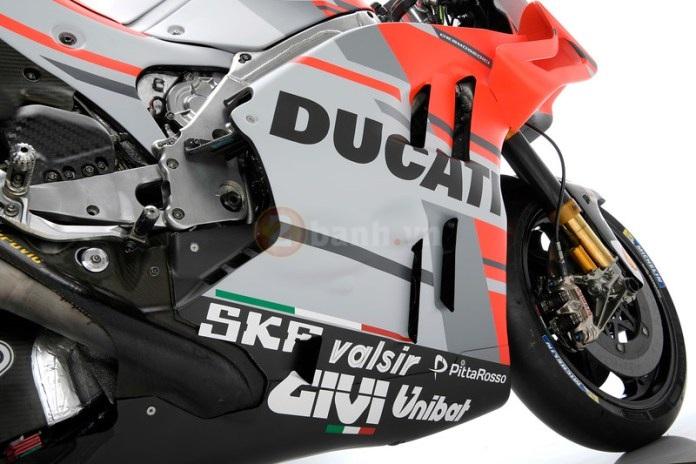Ducati Desmosedici GP 2018 cong bo thong so ky thuat