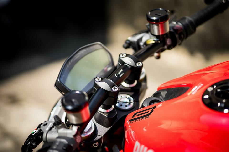 Ducati Monster 821 Makeover dien mao dep khong tuong - 3