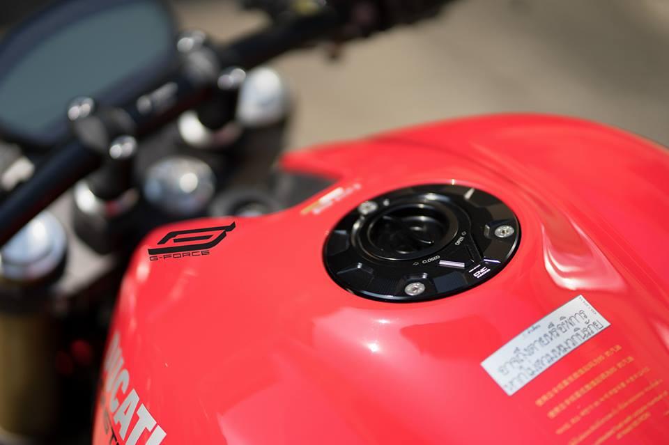 Ducati Monster 821 Makeover dien mao dep khong tuong - 5