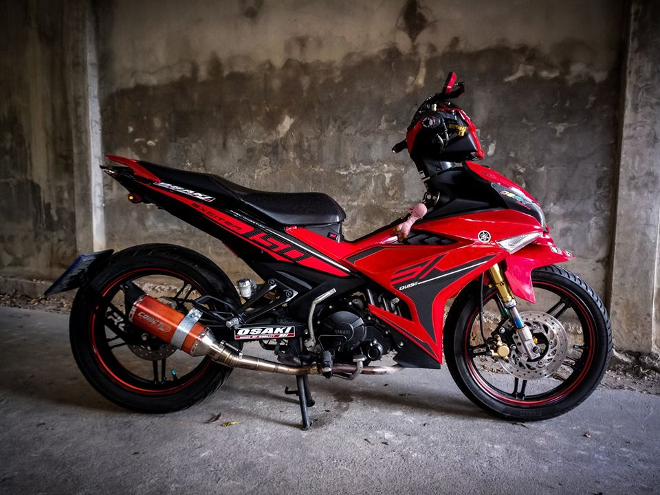 Exciter 150 do cuc ngau voi anh mat Sole cua biker nuoc ban - 3