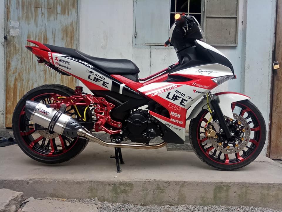 Exciter 150 do dep nhat day phong tro cua biker Dong Thap - 5