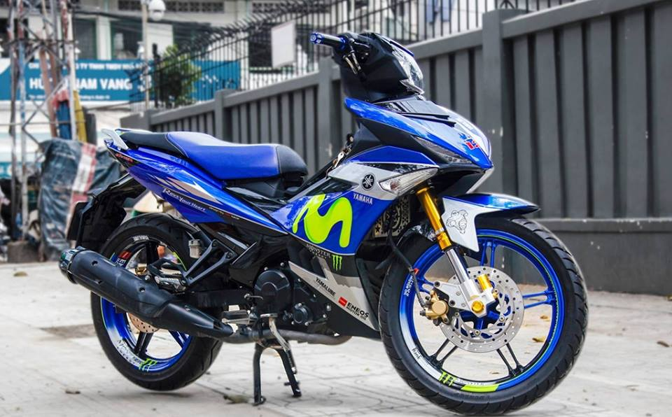 Exciter 150 do dep voi bo canh Movistar dac trung cua doi dua Yamaha Factory Racing - 6