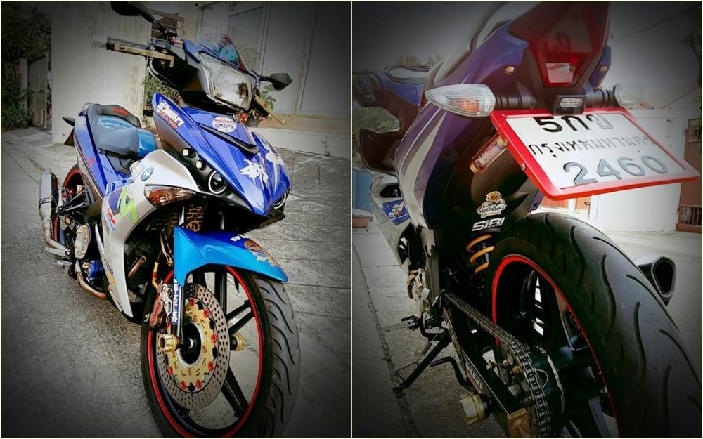 Exciter 150 do don gian voi nhung mon do choi cuc chat cua biker nuoc ban