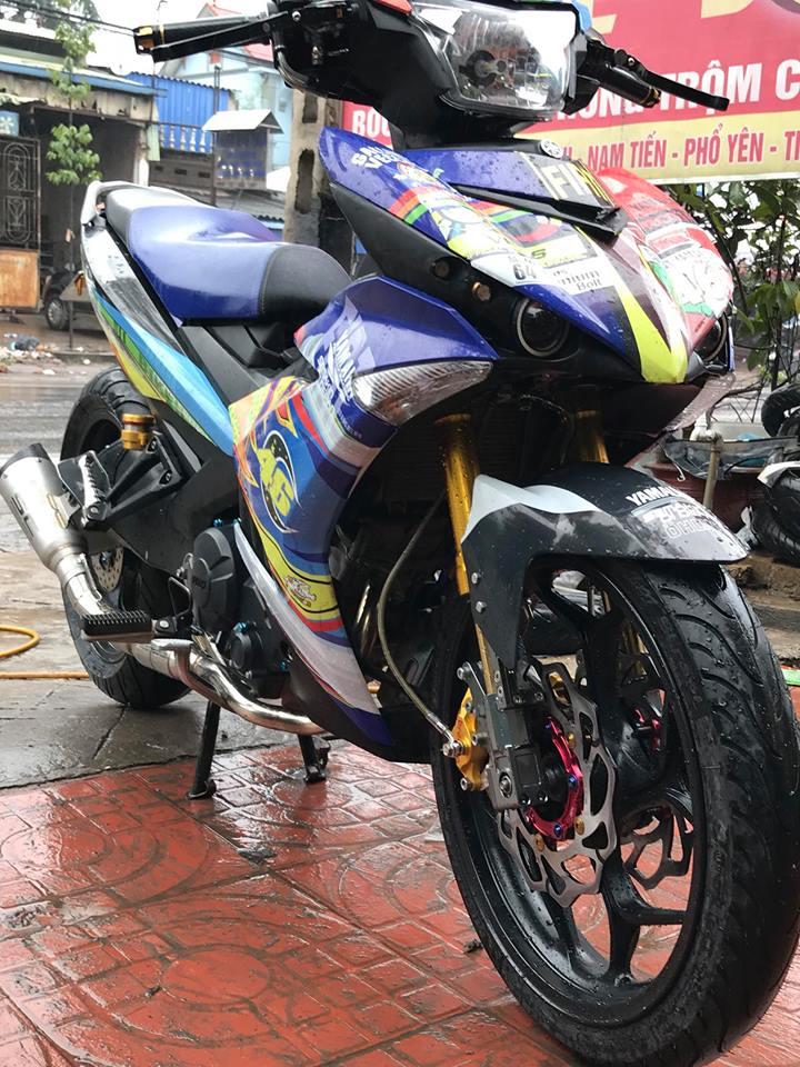 Exciter 150 do ham ho voi bo gap Yamaha R6 cua biker Thai Nguyen - 3