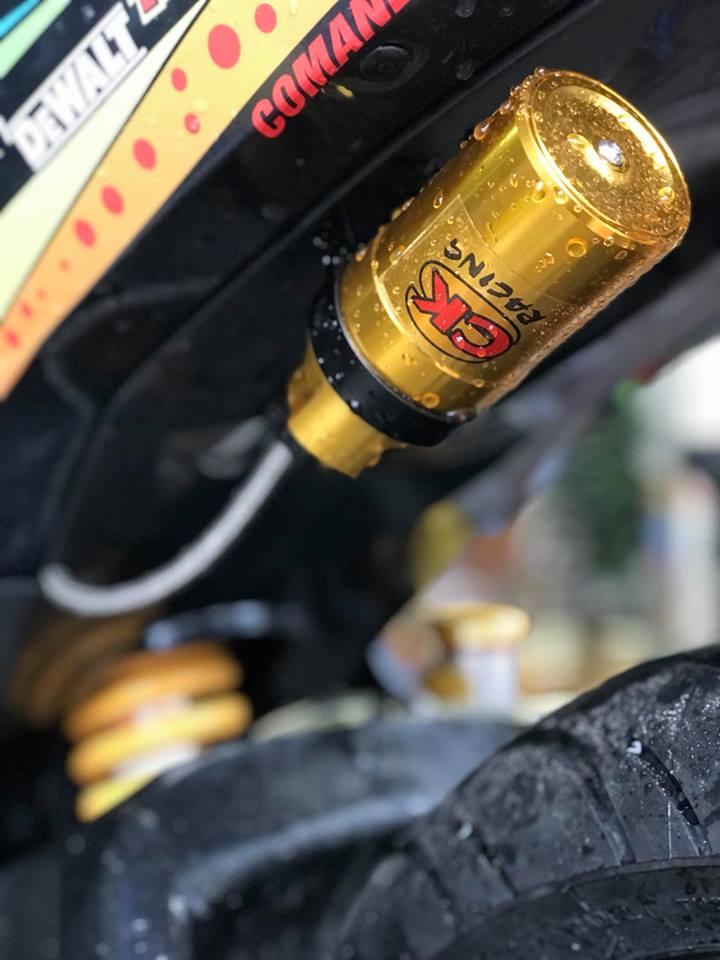 Exciter 150 do ham ho voi bo gap Yamaha R6 cua biker Thai Nguyen - 5