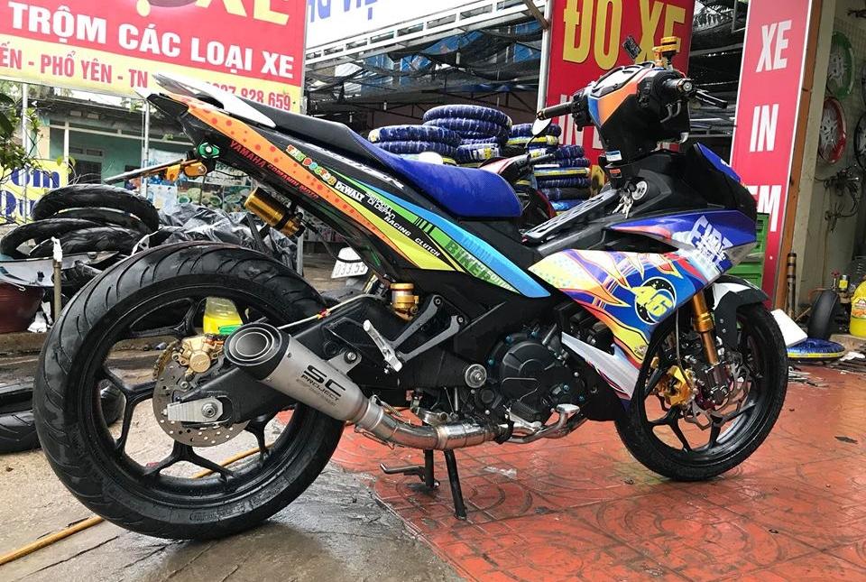 Exciter 150 do ham ho voi bo gap Yamaha R6 cua biker Thai Nguyen - 9