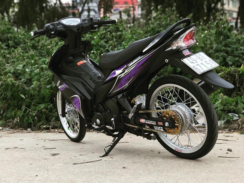 Exciter 2010 do kieng nhe nhang don tet 2018 cua biker Lam Dong - 3