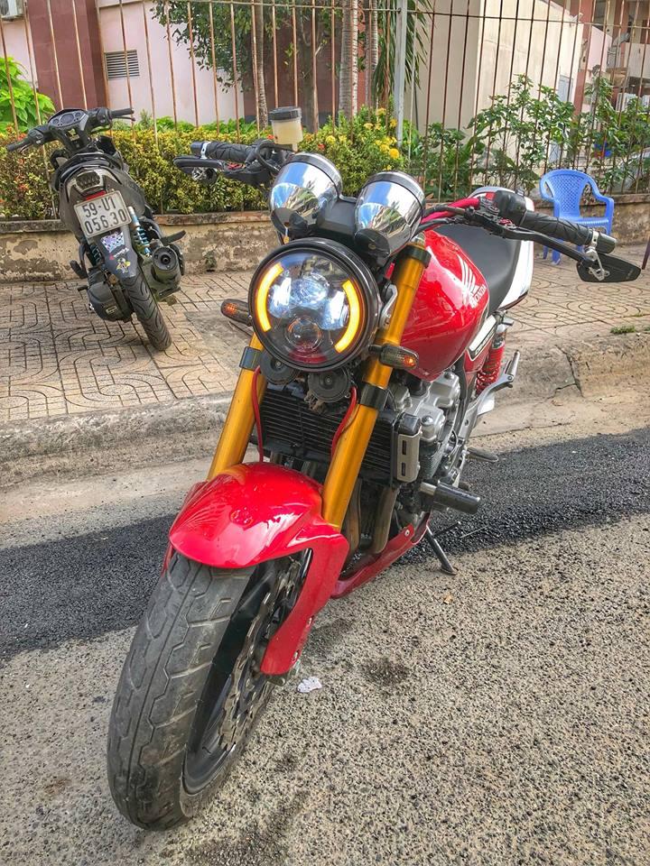 Honda CB400 ban do hang nang tu Biker Viet - 3