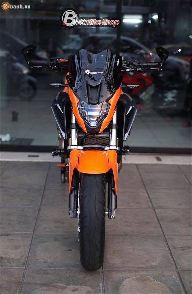 Honda CB500F do xuat sac qua Version con loc mau da cam - 3
