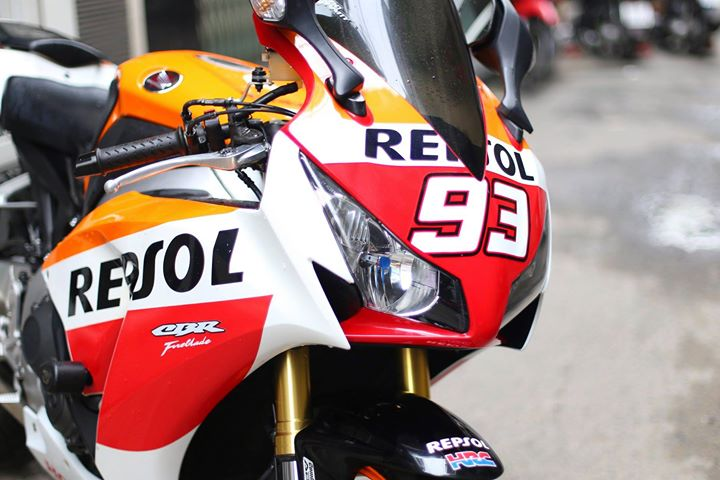 Honda CBR1000RR Bo mong hang sang cua Biker Viet - 3