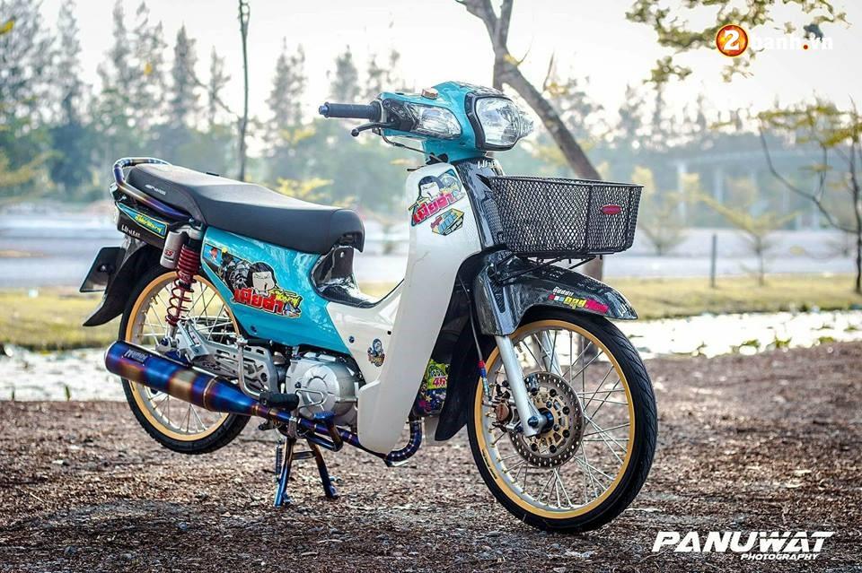 Honda Cub Fi do huy hoang vuot bac moi thoi dai cua biker xu chua vang - 3