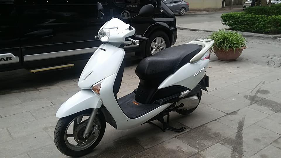 Honda SCR 110cc Fi trang bien ha noi nguyen ban - 3