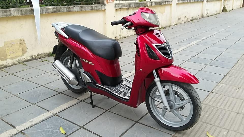 Honda sh 150i mau do che co nhap y bien HN - 2