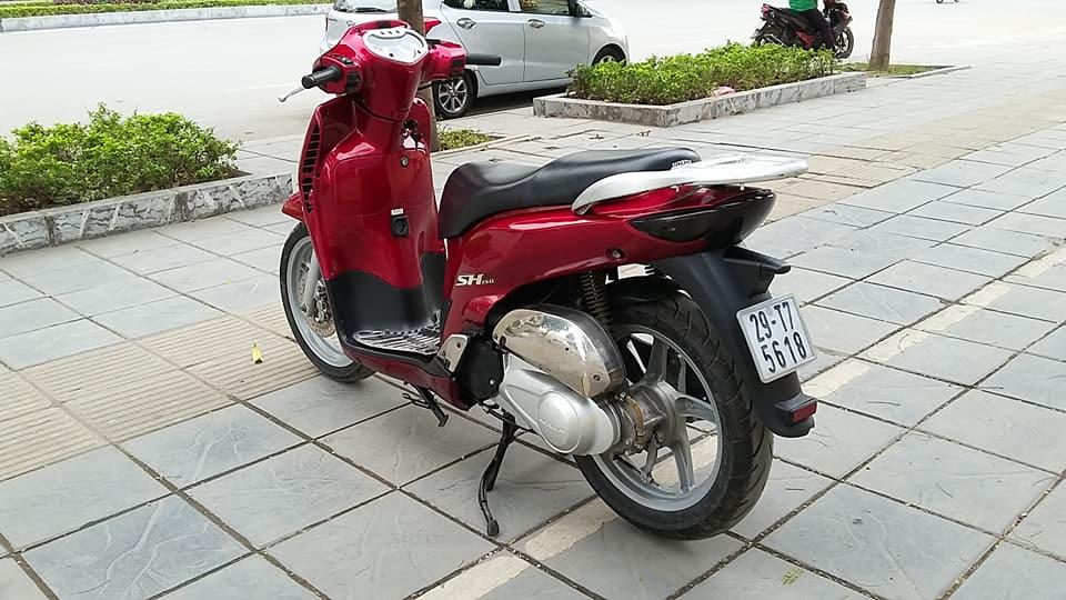 Honda sh 150i mau do che co nhap y bien HN - 3