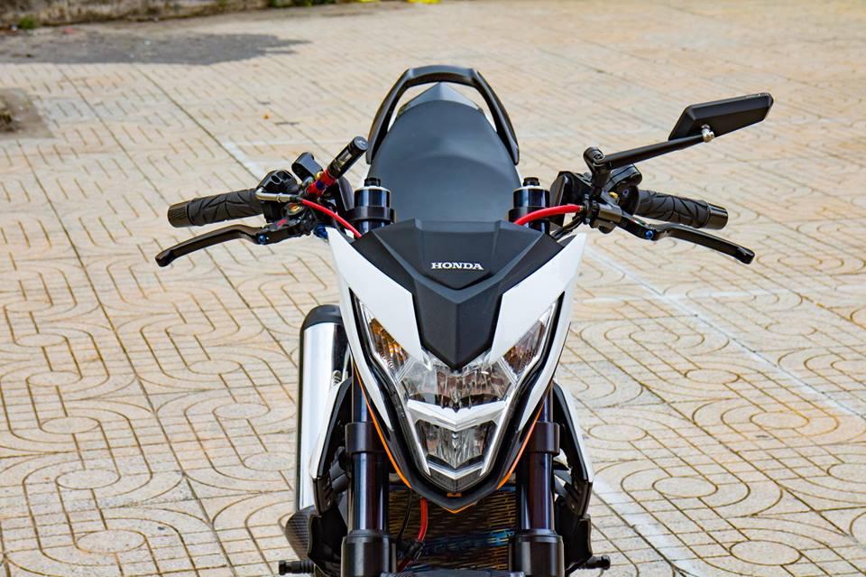 Honda Sonic 150R do cuc KHUNG voi khoi do choi hoang toc cua biker Viet - 4
