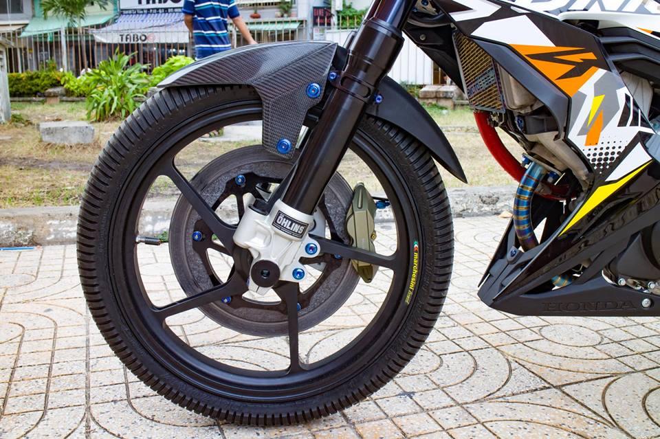 Honda Sonic 150R do cuc KHUNG voi khoi do choi hoang toc cua biker Viet - 6