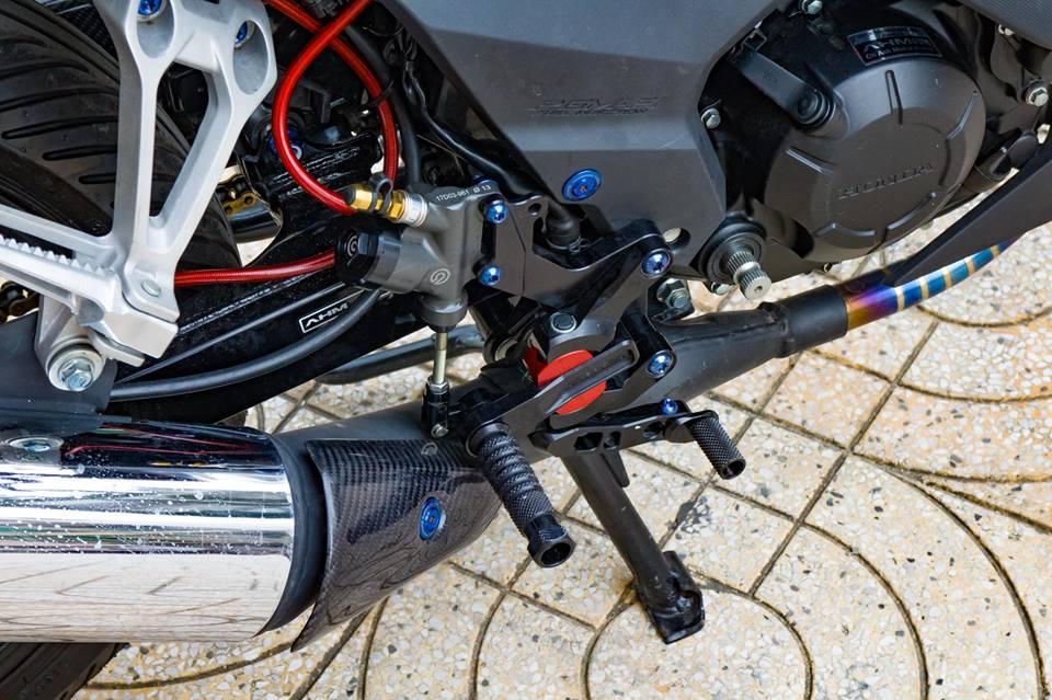 Honda Sonic 150R do cuc KHUNG voi khoi do choi hoang toc cua biker Viet - 12