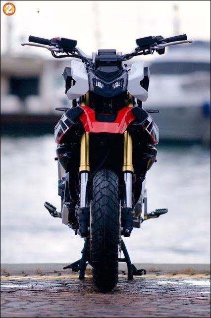 Honda XADV 750cc lo anh hinh dang moi cuc ngau - 4