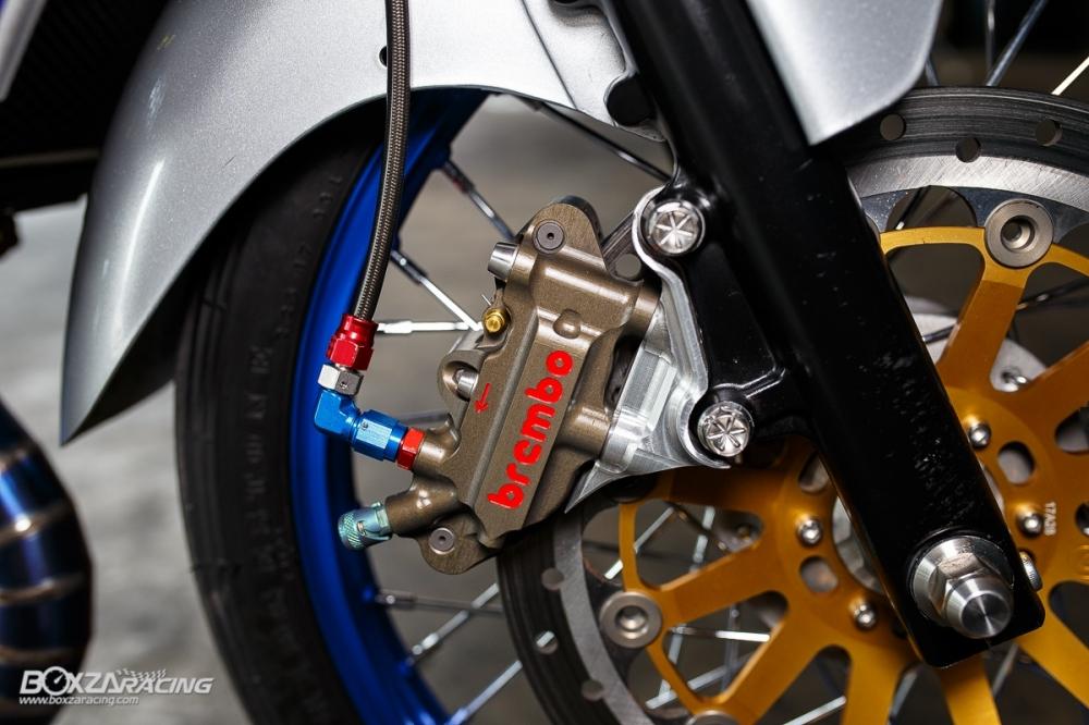 Kawasaki Kips 150 do kieng cuc khung voi dan do choi hang hieu - 9