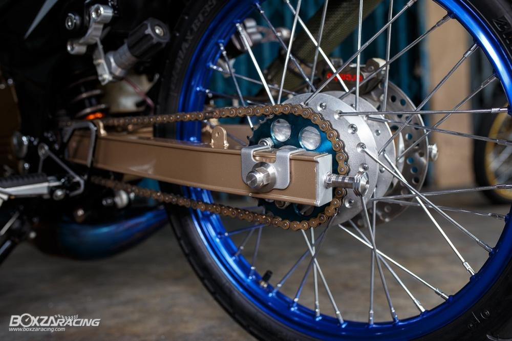 Kawasaki Kips 150 do kieng cuc khung voi dan do choi hang hieu - 16