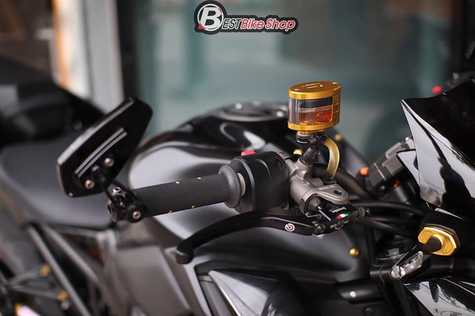Kawasaki Z900 Nakedbike pho dien trang bi cong nghe toi tan - 5