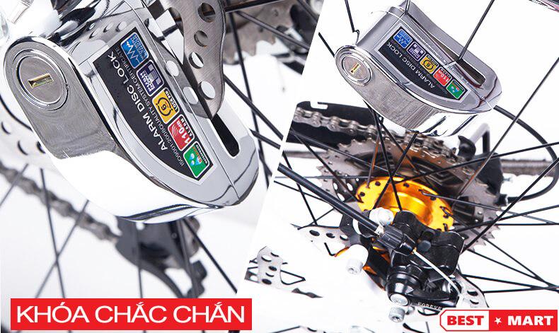 Khoa Chong Trom Phanh Dia Xe May Kinbar - 2