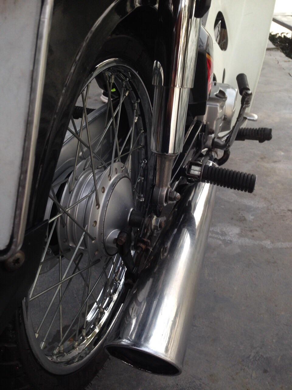 Minh mun ban xe Dream thai lam lai dep manh - 5