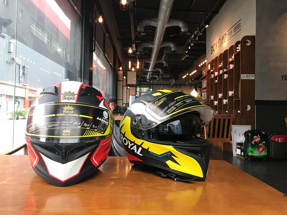 Moto299 Nhung mau mu bao hiem Royal moi nhat tai Ha Noi - 4