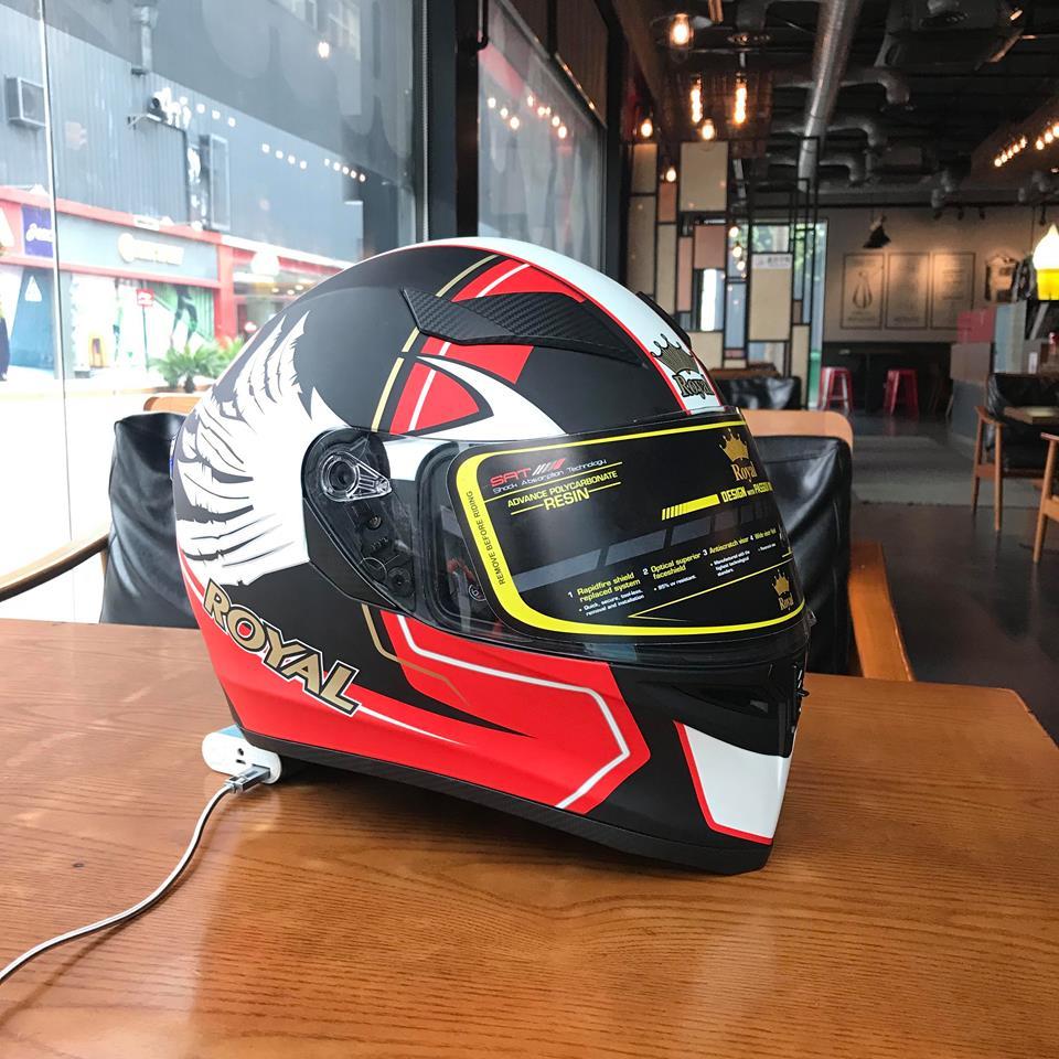Moto299 Nhung mau mu bao hiem Royal moi nhat tai Ha Noi - 7