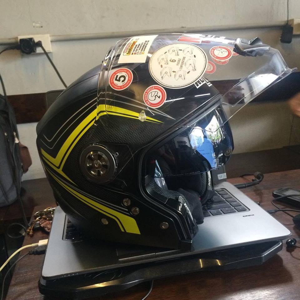 Moto299 Nolan N44 Evo dong mu da nang 6 trong 1 - 2