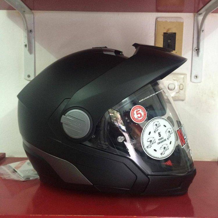 Motobox299 NOLAN N40 Flat Black ma thuat nam trong mot kiet tac - 2