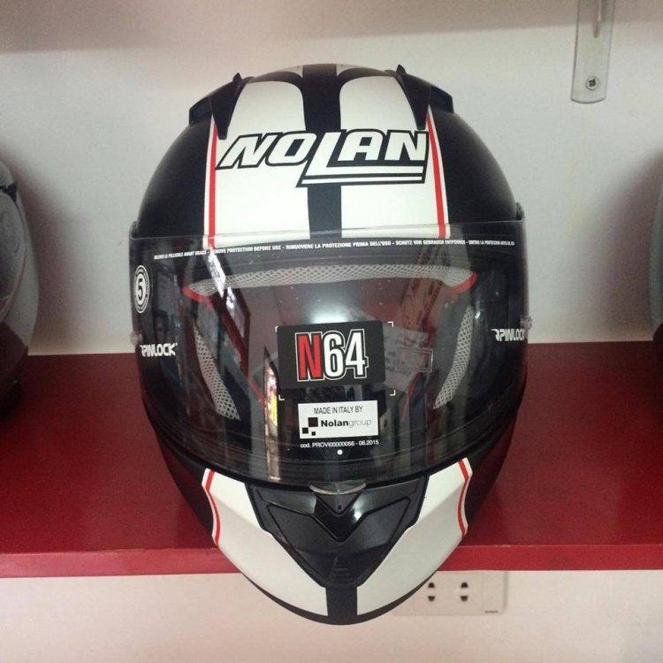 Motobox299 Nolan N64 MotoGP Flat Black su quan hut cua toc do - 4
