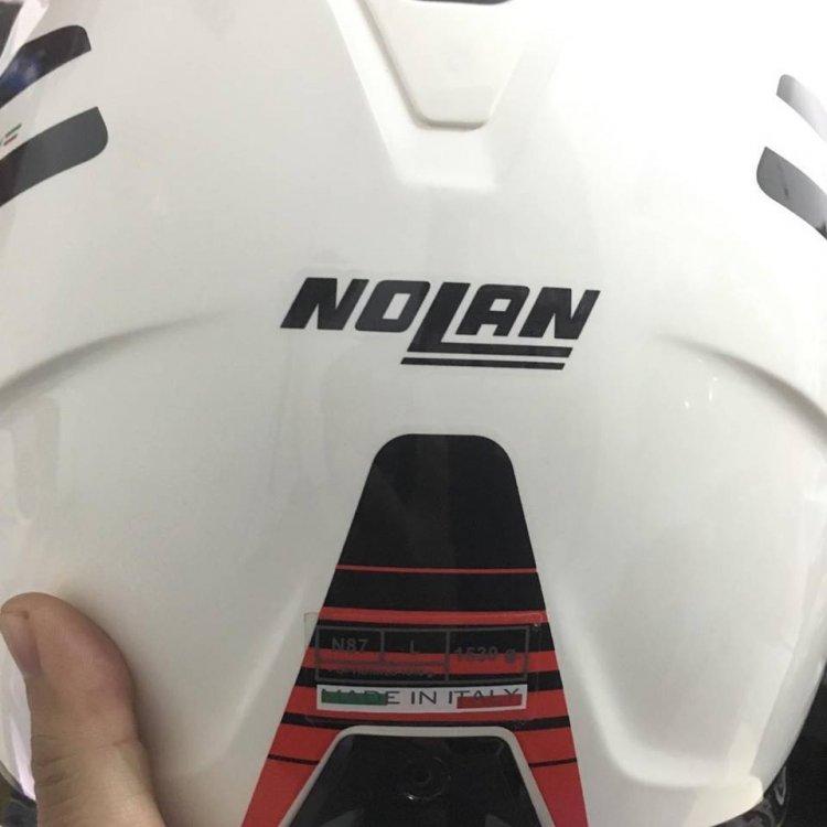 Motobox299 Nolan N87 voi phien ban trang xanh den - 3