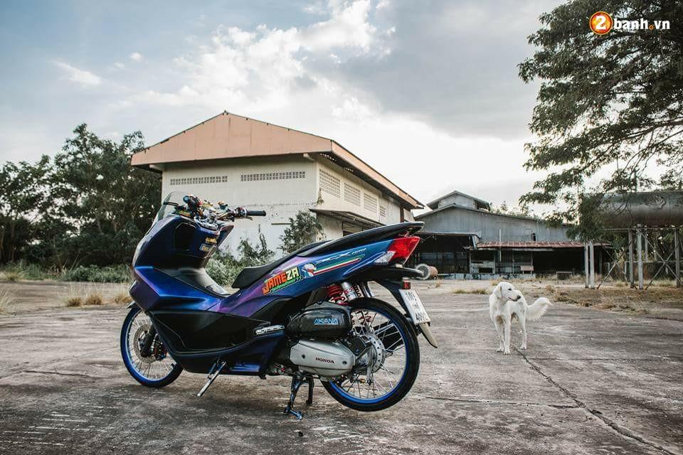 PCX 150 do chuyen mau day huyen bi dam minh trong khu xuong bo hoang - 7