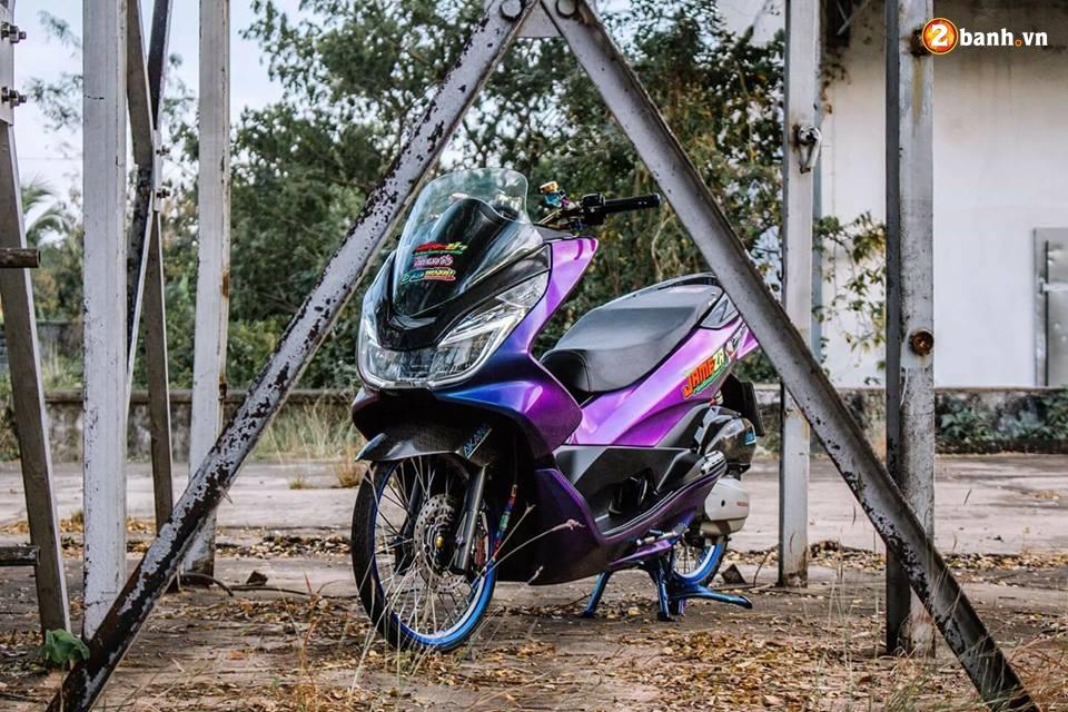 PCX 150 do chuyen mau day huyen bi dam minh trong khu xuong bo hoang - 9