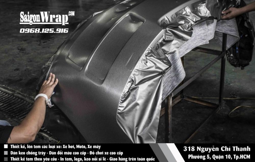 SaiGonWrapCom Dan WRAP Doi Mau O To Cao Cap Thi Cong Chuyen Nghiep Bao Hanh 24 Thang