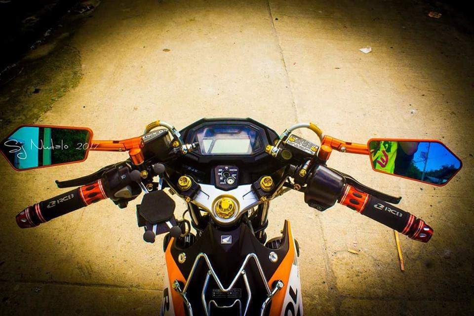 Sonic 150 do full do choi Racingboy cua Biker nuoc ngoai - 3