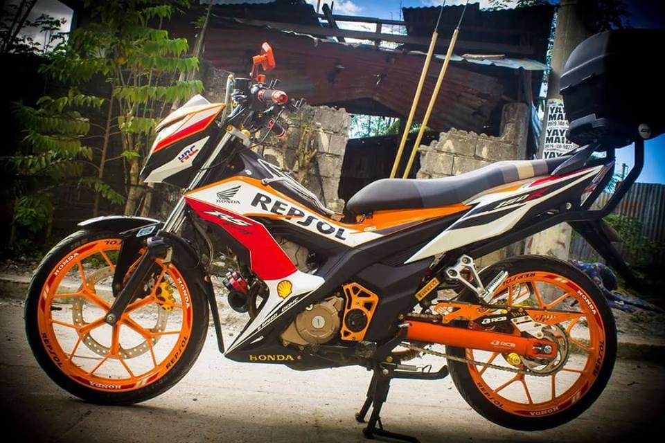 Sonic 150 do full do choi Racingboy cua Biker nuoc ngoai - 7