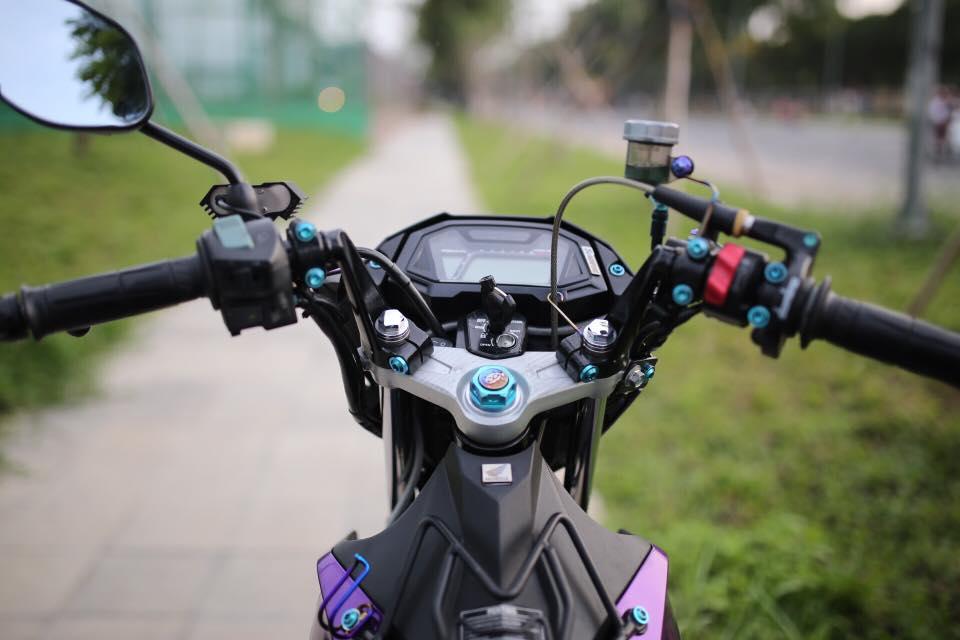 Sonic 150r do sieu dep voi tong mau tim thuy chung khoe dang cung PKL - 4