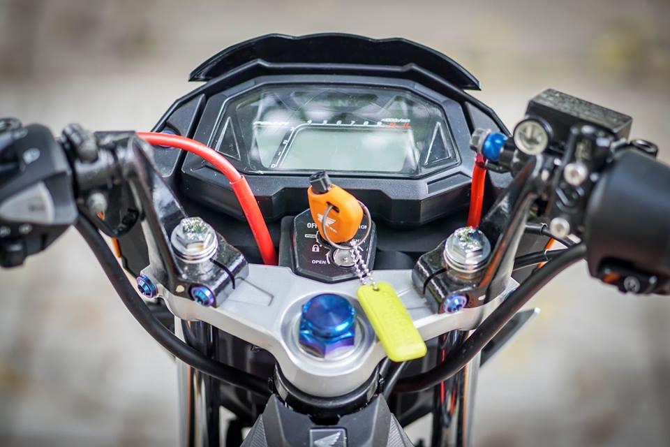 Sonic 150R Mau HyperUnderbone duoc do manh me cua biker mien tay - 3