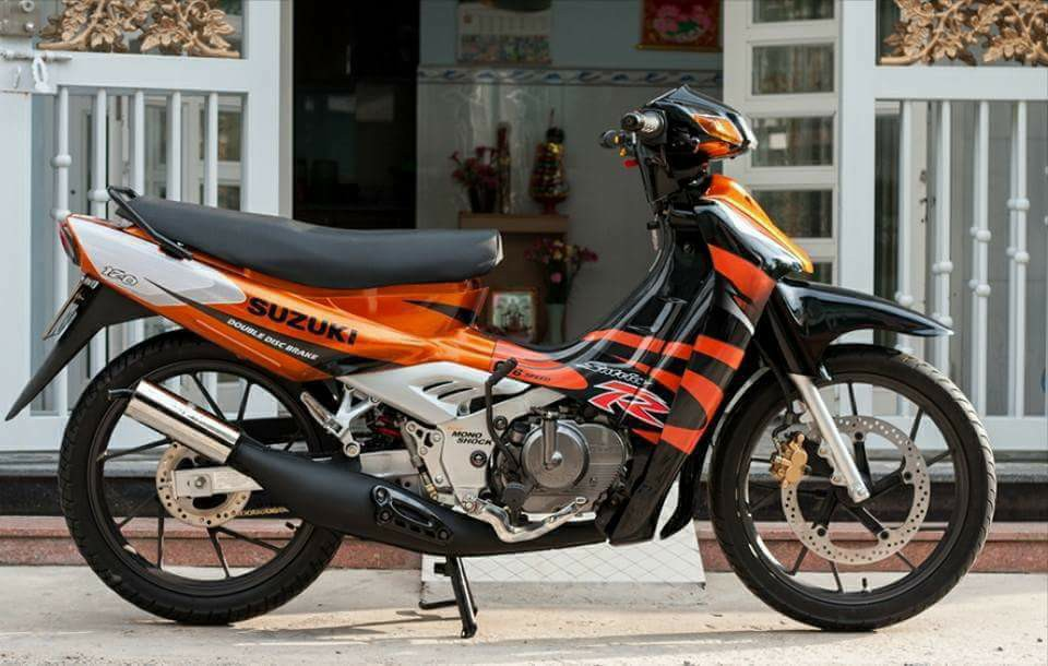Suzuki Sport 1999 Mau xe 2 thi huyen thoai uoc mo cua nhung chang trai Viet - 7