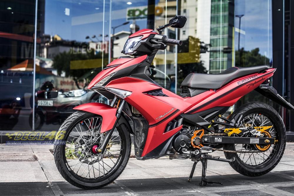 Tong hop tem xe Exciter 150 do den thang 1 do Decal46 thuc hien - 15