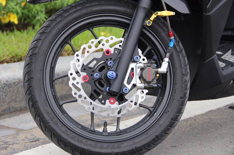 Vario 150 ban do voi nhieu do choi khung tu tin khoe sac cua biker Viet - 11