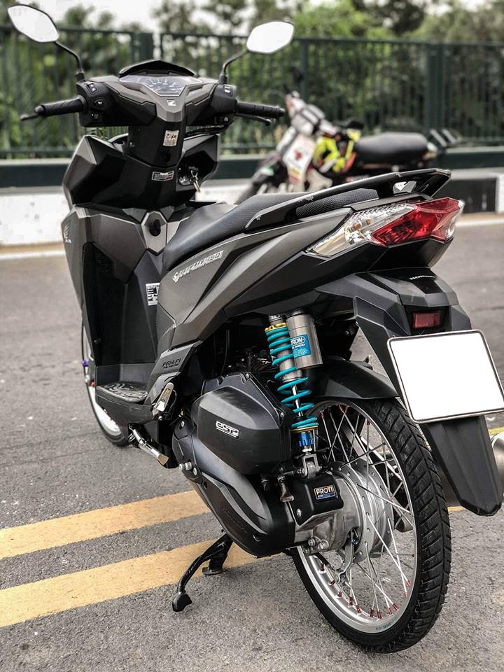 Vario 150 do sap san voi loat do choi chat cua Biker Vinh Long - 5