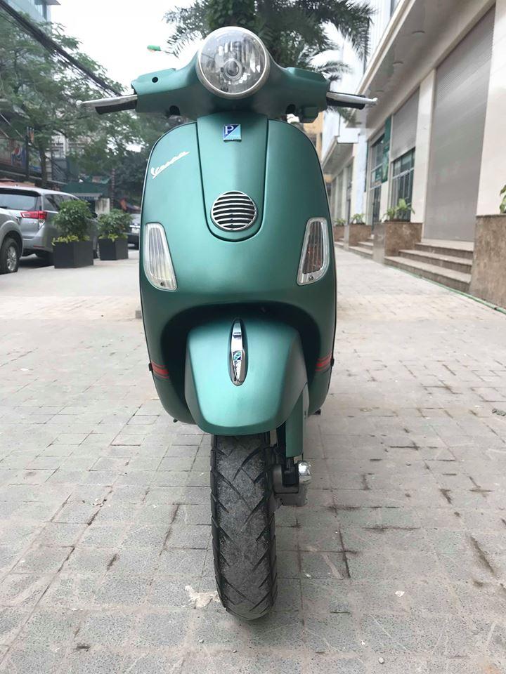 Vespa LX 125cc ban dac biet Sport mau xanh san - 4