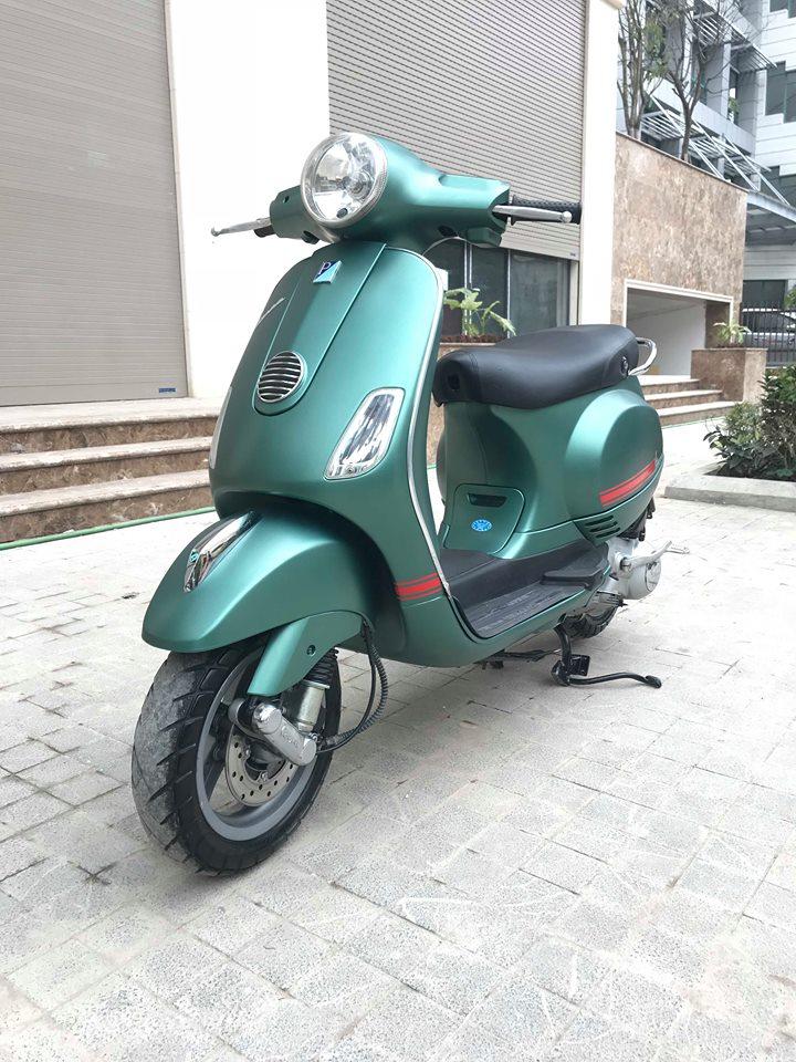 Vespa LX 125cc ban dac biet Sport mau xanh san - 5