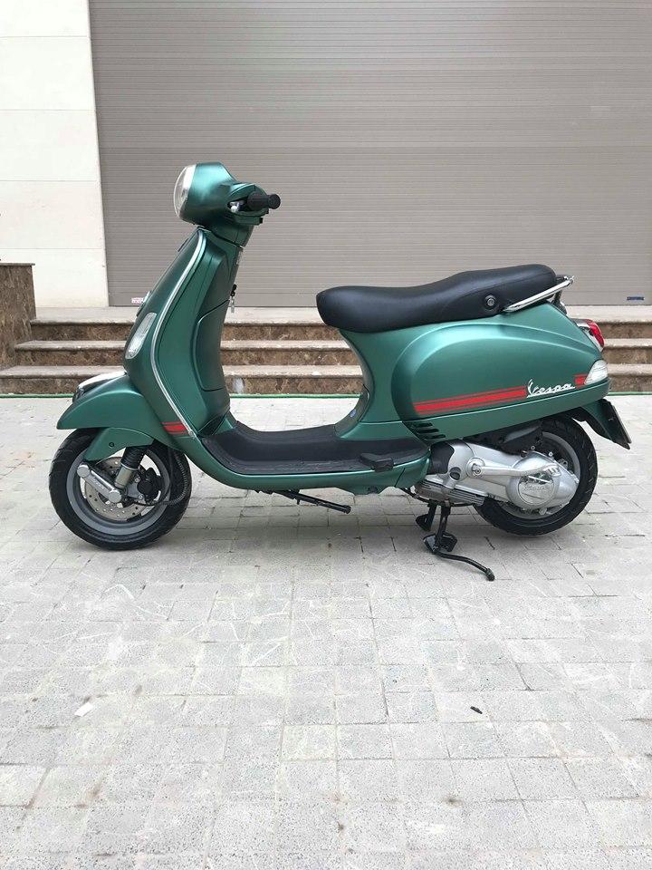 Vespa LX 125cc ban dac biet Sport mau xanh san - 6