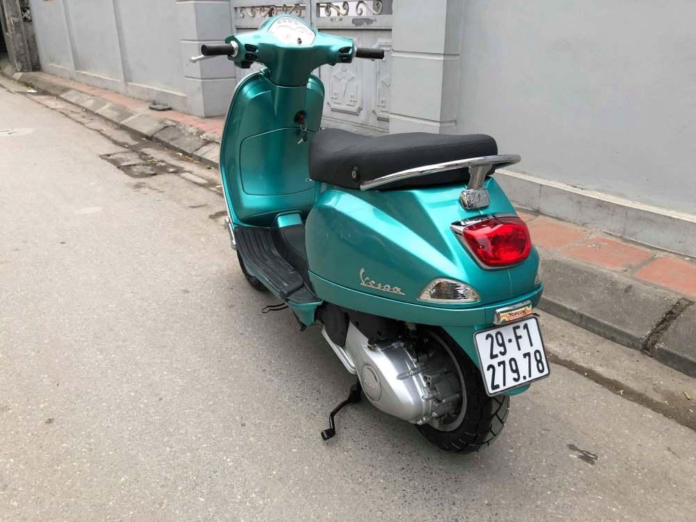 Vespa LX125 3vie 2015 xanh cuc sang trong 29F rat giu 36tr5 doi moi cho ac nguoi dang can mua sd - 5